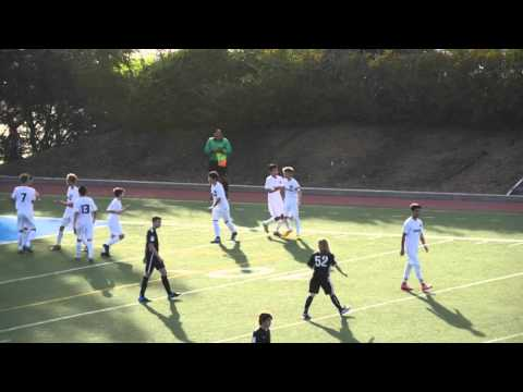 Breakers U14 Academy vs. Sacramento Republic 2-6-16 HD