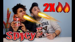 EXTREME 2X SPICY | HOT CHALLENGE ✔