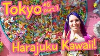 Kawaii Overload: Harajuku! Cute Japanese Fashion - Tokyo vlog 6 part 1