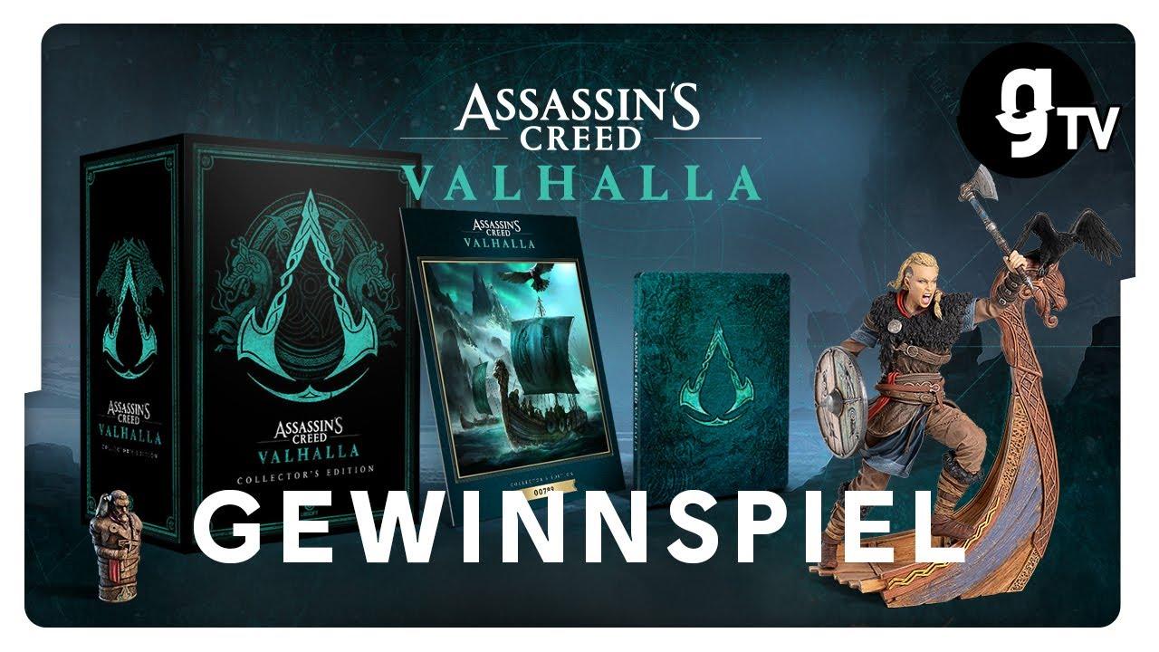GEWINNSPIEL: Wir verlosen die Assassin's Creed Valhalla Collector's Edition! | gTV