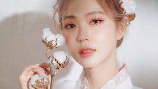 새해맞이 한복 메이크업 Hanbok Make-up (with Subs) | Heizle