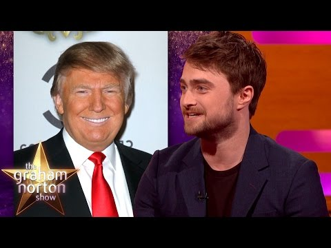 Donald Trump Gave Daniel Radcliffe Chat  Advice  The Graham Norton