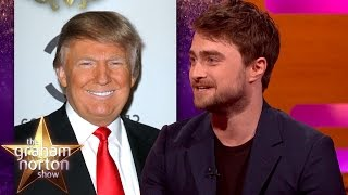 failzoom.com - Donald Trump Gave Daniel Radcliffe Chat Show Advice - The Graham Norton Show
