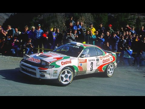 Toyota Celica GT-Four WRC on Tarmac (Speed & Pure Sound) HD - YouTube