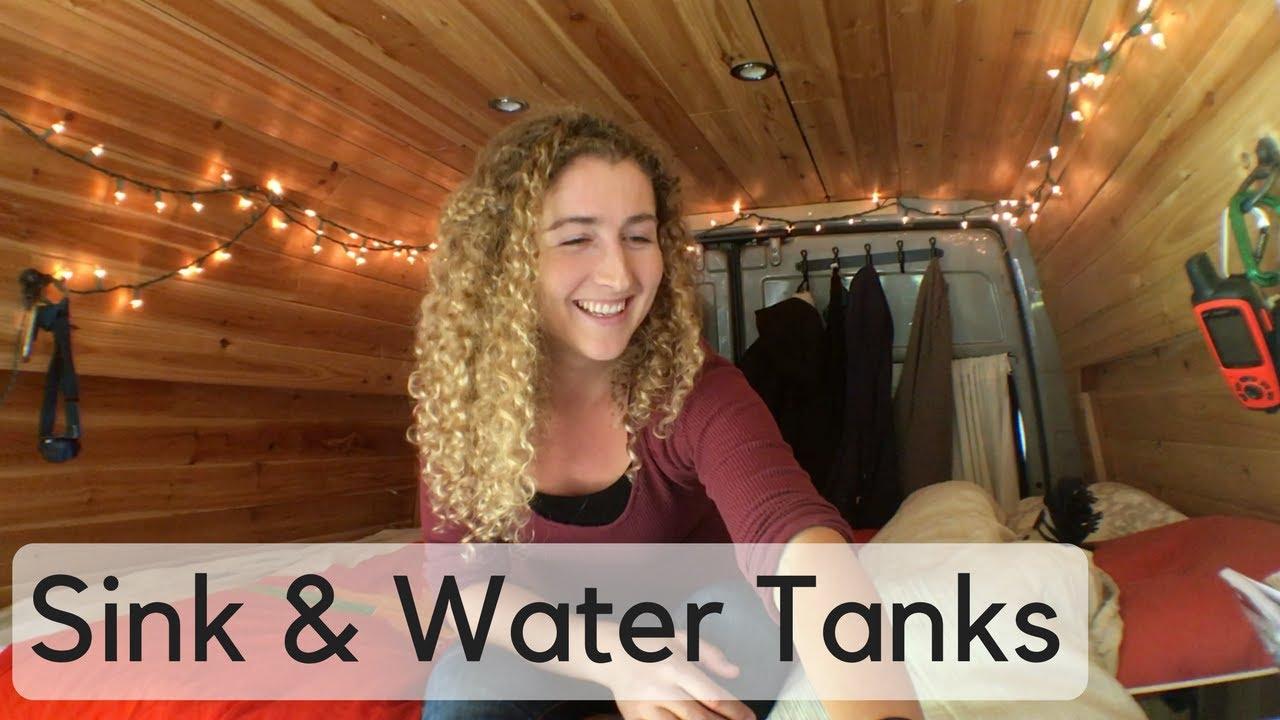 Sprinter Van Conversion - Sink/Plumbing — Kaya Lindsay