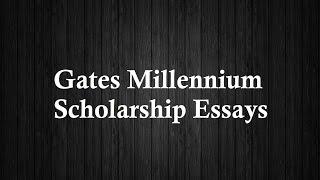 gates millenium scholarship essay tips Bill gates millenium scholarship essay gates millennium scholarship essay tips gates millennium scholarship essays gates millenium scholarship essay.