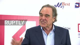Russia: 'I've always had a very warm reception here' - Director Stone talks Russia