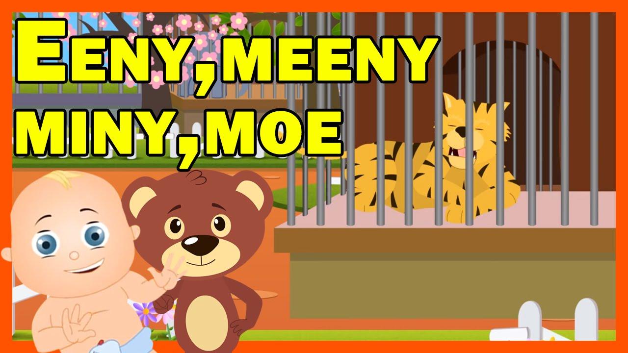 Eeny Meeny Miny Moe Nursery Rhymes For Kids Youtube