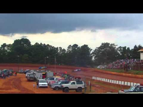 Laurens County Speedway Crate Hot Laps 7/20/13