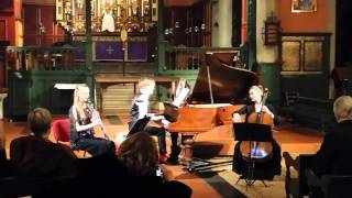 Beethoven Trio in B-flat №4 Opus 11 - Tema: Allegretto