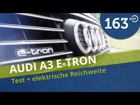 Audi A3 Sportback e-tron Test Probefahrt elektrische Reichweite Review 4K Deutsch