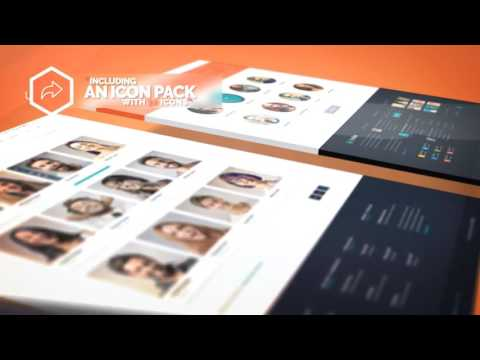 Website Presentation After Effects Template - Самые лучшие видео