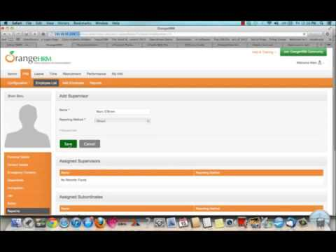 xTuple ERP + OrangeHRM  Open source software leaders integration