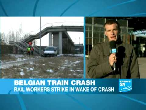 Belgian rail drivers strike after fatal collision