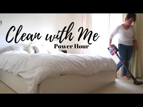 Power Hour Clean With Me | Kmart Anko Cordless Vacuum Unboxing/Review