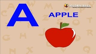 A For Apple B For Ball C For Cat D For Dog | Preschool Learning Videos | ABCD Song For Children