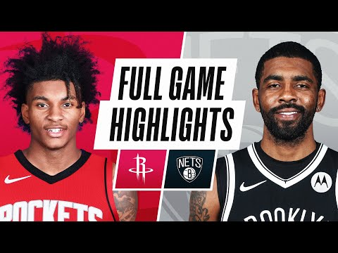 ROCKETS at NETS | FULL GAME HIGHLIGHTS | March 31, 2021