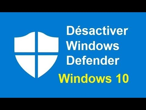 telecharger no defender windows 10