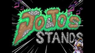 Terraria JoJo stands mod showcase/stands/weapons/spoilers