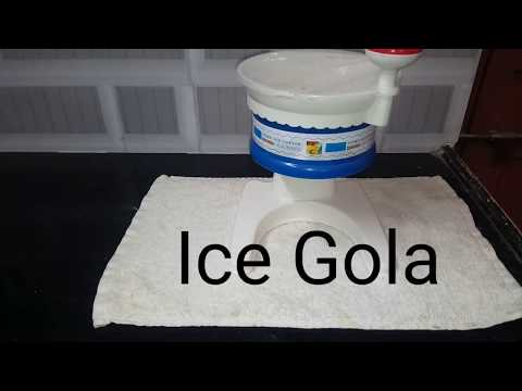 Ice Gola    ఐస్ గోల    Tasty Indian ice gola    Summer Special    Crazy Recipes    Madhuri