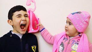 Celina and Hasouna swipe Father and Baby 2 - سيلينا وحسونة الطفل