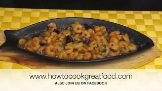 Prawn Shrimp Pil Pil Gambas Garlic Chilli Sizzling Recipe How To Cook Great Food Pilpil