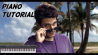 Download Lagu New Light - John Mayer Piano Tutorial (Easy) Mp3