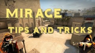 CSGO - Mirage Tips and Tricks (Boosts, Jumps, Wallbangs, Pixelwalks)