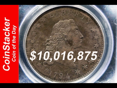 CoinStackerCoin Of The Day - 1794 Flowing Hair Dollar