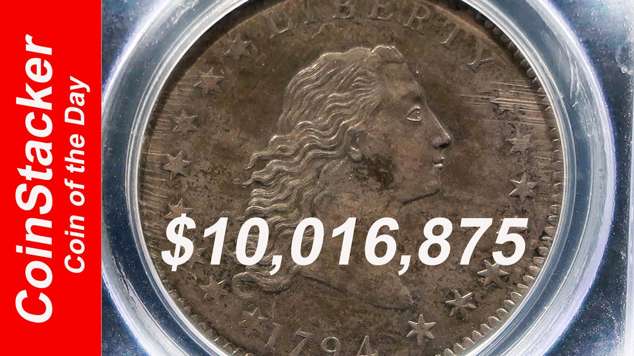 Coinstackercoin Of The Day 1794 Flowing Hair Dollar