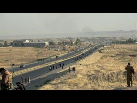 حصري - الأكراد يقاومون مع وصول القوات العراقية حدود محافظة اربيل  - نشر قبل 12 ساعة