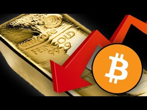 12 Reasons Bitcoin Could Fall Below $1,000 & Why Gold Will Not!