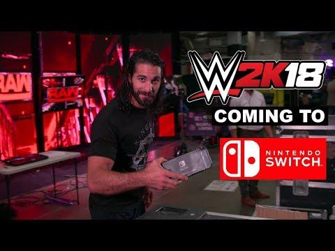 WWE 2K18 llegará a Nintendo Switch este otoño
