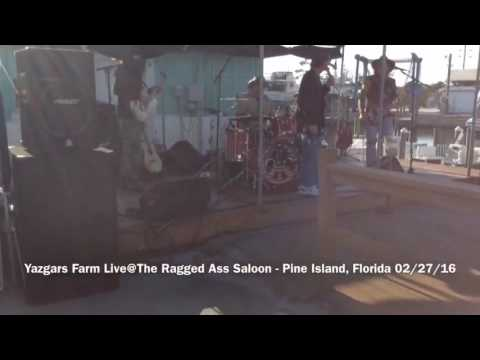 Live with Yazgurs Farm - Ragged Ass Saloon, Pine Island, Florida - 02-27-16