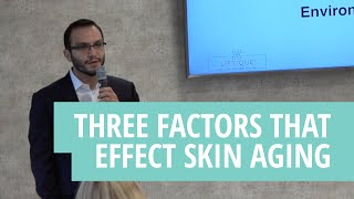 The Three Factors That Effect Skin Aging