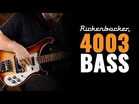 Rickenbacker 4003 Bass in Montezuma Brown Finish