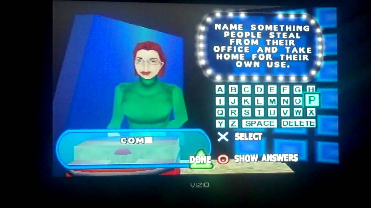 Family Feud PS1 Game 21
