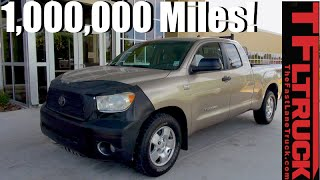 Meet the One Million Mile Toyota Tundra Still with Its Original V8! thumbnail