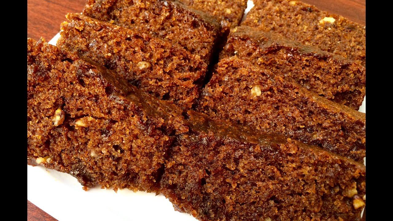 Eggless Dates Cake Recipe In Tamil