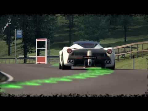 Assetto Corsa: Trento Bondone Hill Climb with La Ferrari