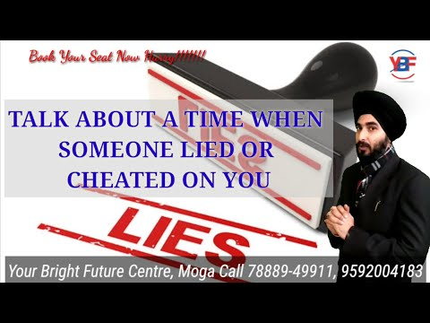 Talk About A Time When Someone Cheated on You or Lied| Latest IELTS Cue 2019| Best sample Answer 8.0