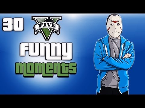 GTA 5 Online Funny Moments Ep. 30 (Sliding...