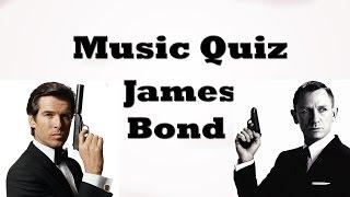 Music Quiz - James Bond