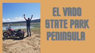 El Vado State Park, Nęw Mexico....Peninsula ...Primitive Camping