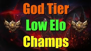 Best Champions For Bronze Patch 6.14 | God Tier Champions For Low Elo