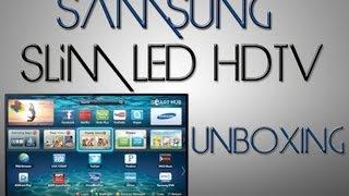 UNBOXING: Samsung 40-Inch 1080p Slim LED Smart HDTV