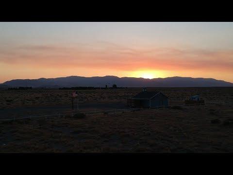 Drone Footage Nevada 2017 DJI Spark