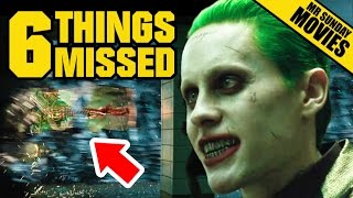 Watch SUICIDE SQUAD Trailer 2 Easter Eggs, References & Things Missed
