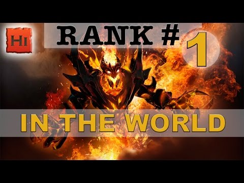 Ep. 5 - Rank # 1 WORLD (SHADOW FIEND) by See you again! | Win rate: 65.08% | Hero Score: 6968