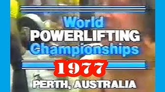 1977 IPF Men's World Powerlifting Championships (Perth)